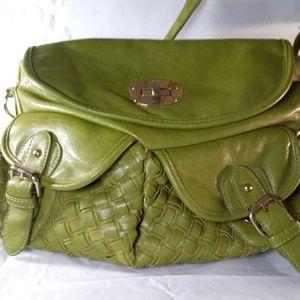 B. Makowsky Olive green bag